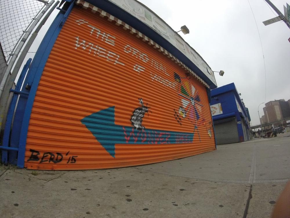 Wonder Wheel Mural